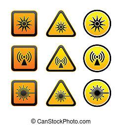 jelkép, állhatatos, figyelmeztetés, kockázat