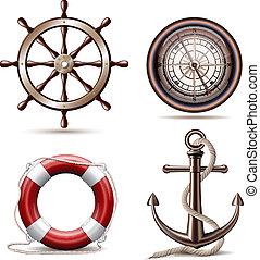 jelkép, állhatatos, tengeri