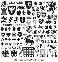 jelkép, alapismeretek, címertani