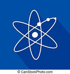 jelkép, atom-