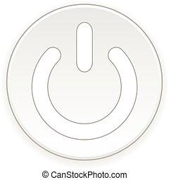 jelkép, button., erő