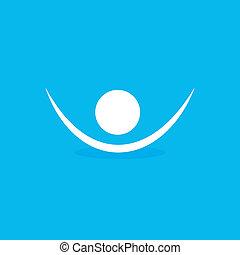 jelkép, emberi, ikon