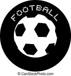 jelkép, foci labda