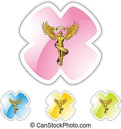 jelkép, gerinc kezelése