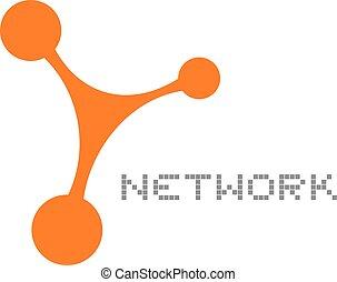 jelkép, hálózat