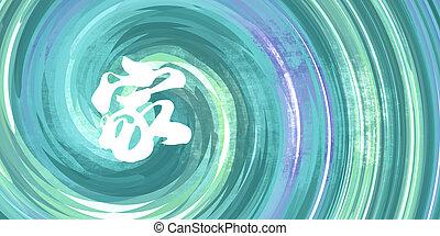 jelkép, kínai, család
