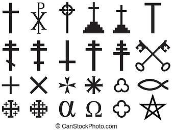 jelkép, keresztény, vallásos