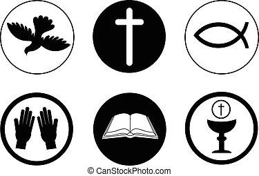 jelkép, kereszténység, ikonok