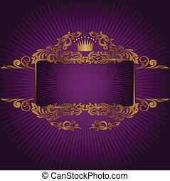 jelkép, királyi, transzparens