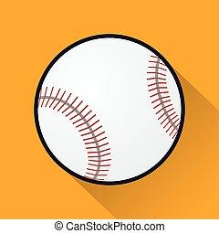 jelkép, labda, baseball