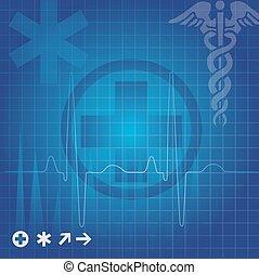 jelkép, orvosi ábra