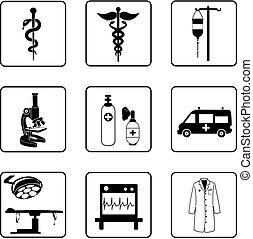 jelkép, orvosi