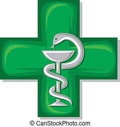 jelkép, orvosi, kereszt