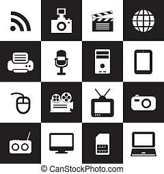 jelkép, technológia