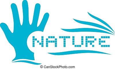 jelkép, természet