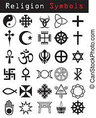 jelkép, vallás