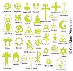 jelkép, vallásos, gyűjtés