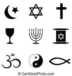 jelkép, vallásos icons