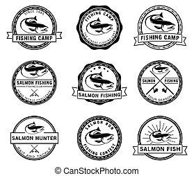 jelvény, fish, lazac, halászat