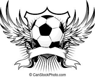 jelvény, futball