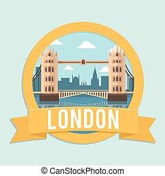 jelvény, london, szalag, bridzs