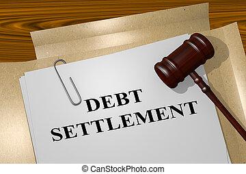 jogi, fogalom, adósság, egyezség