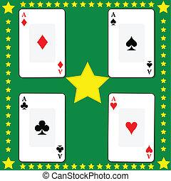 kártya, 2, játék