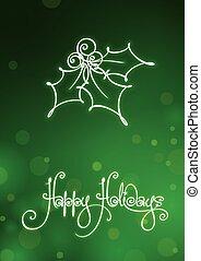 kártya, boldog, ünnepek