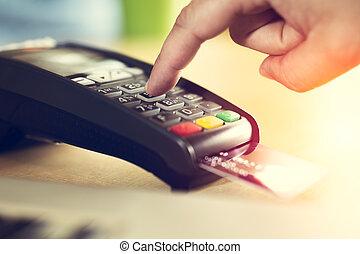 kártya, fizetés, hitel