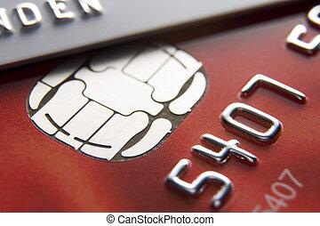 kártya, hitel, közelkép