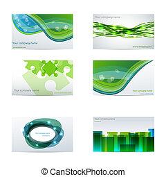 kártya, zöld ügy
