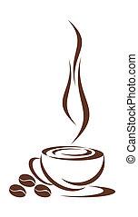 kávécserje, cup.