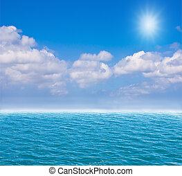 kék ég, mély tenger