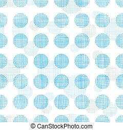 kék, ékezetez, motívum, elvont, polka, csíkoz, seamless, textil, háttér