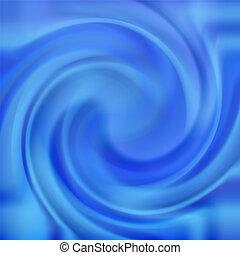 kék, örvény