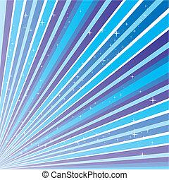 kék, 10.0, leszed, elvont, eps, ábra, csillaggal díszít, vektor, háttér