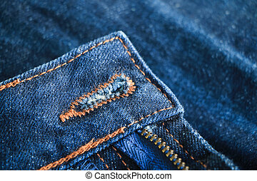 kék, cajgvászon jeans, struktúra, háttér