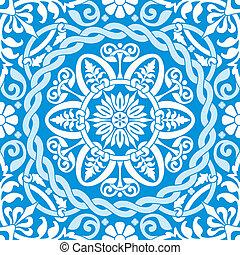 kék, díszítés, tél