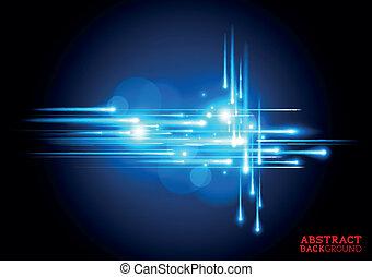 kék, elektromos, háttér