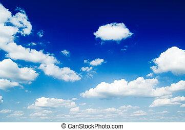 kék, elhomályosul, sky.
