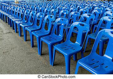 kék, elnökké választ, műanyag