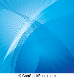 kék, elvont, háttér, lenget