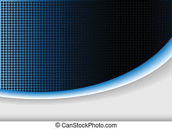 kék, elvont, háttér, parázslás