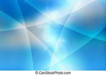 kék, elvont, kanyarok, háttér