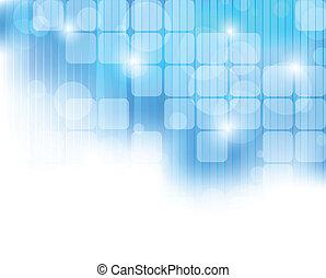 kék, elvont, tech, háttér