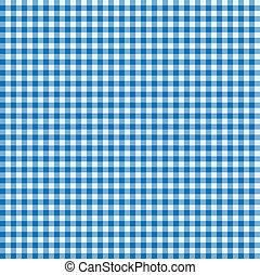 kék, fehér, abrosz