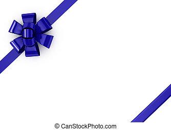 kék, felett, gyeplő, white háttér