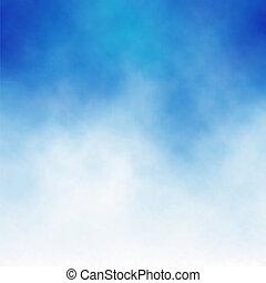 kék, felhő