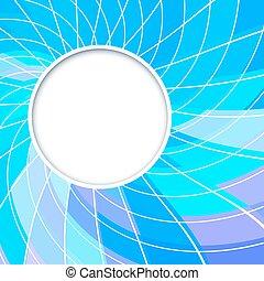kék, frame., szín, elvont, alakzat., háttér., vektor, ibolya, circles., karika, kerek