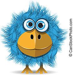 kék, furcsa, madár